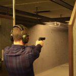 Shooting range in Vilnius