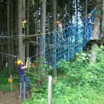 High ropes in Vilnius