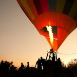 Hot air balloon Vilnius
