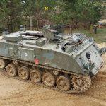 Vilnius tank driving