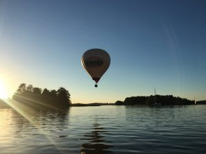 Vilnius hot air balloon tours